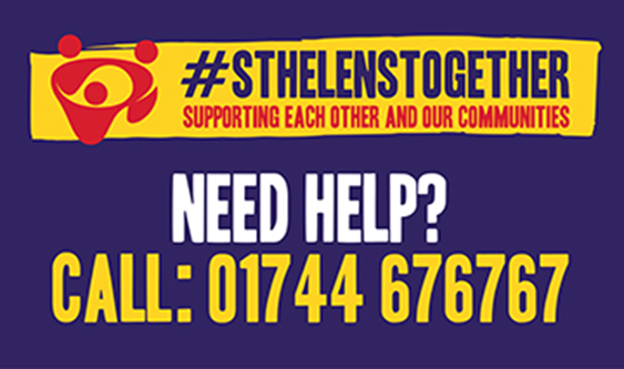 St. Helens Together - Need Help Poster